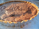 Bourbon Brownie Pie - Guest Post
