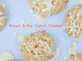 Brown Butter Carrot Cookies