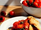 Cherry Tomato & Kale Pie