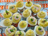 Deviled Eggs 3 Ways - a Virtual Bridal Shower for Megan