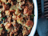 Sweet Bread, Sausage & Medjool Date Stuffing