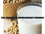 Soy protein is environment-friendly