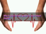 Why is Soy Protein great for your Heart Health