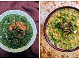 Mulai Keerai / Amaranth Greens Cooked Two Ways Using The Ipot