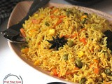 Achari Vegetable Pulao