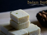 Almond Fudge | Badam Burfi