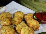 Baked, no-Oil Pumpkin Fritters | Baked, no-Oil Pumpkin Pakodas