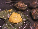 Chhena Paturi | Chanar Paturi | Cottage Cheese Wrapped in Pumpkin Leaves