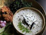 Dahi Pakhala | Water Rice with Yogurt or Curd