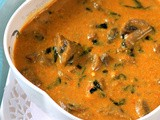 Fenugreek / Methi Mushroom Curry