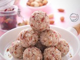 Foxnut Coconut Ladoo with Rose Flavor