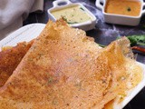 Instant Tomato Rava Dosa without Maida and Atta (vegan)