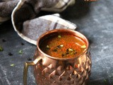 Lemon Pepper Rasam (No Lentil, No Rasam Powder, No Tamarind)
