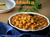 Madra - Chickpeas in Yogurt Gravy