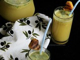 Virgin Grilled Pineapple Mojito
