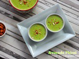 Avocado Phirni Recipe | Vegetarian | Indian Dessert | Flavour Diary