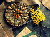 Black Seeds Pie | Nigella Seeds Pie Dessert Recipe | Eggless | International Cuisine