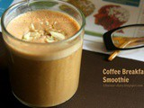 Coffee Breakfast Smoothie Recipe | Flavour Diary | Breakfast Recipe