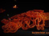 Dosa Batter Instant Jalebi recipe | No yeast | Leftover Recipes | Flavour Diary