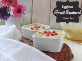 Fruit Custard | Easy Indian Dessert recipe | Eggless | Flavour Diary