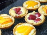 Frangipane mini fruit tarts. Oh! and Mind the gap please