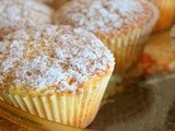 Unusual orange muffins