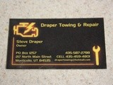 Draper Towing and Repair (a Non-Food Related Review)