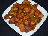 Potato Masala Roast/Urulaikizhangu Roast