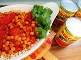 Chick- Peas in Chunky Tomato Sauce...and Red Gold Giveaway