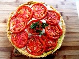 Fresh Tomato Tart...and Silent Sunday