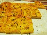 Rosemary Focaccia and Book Giveaway