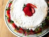 Summer Strawberrry Cake....a Gues Post