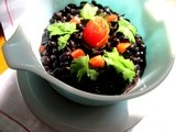 Two Black Bean Dishes... kill two birds with one stone
