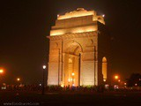 A Night at India Gate