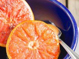 Ginger and Brown Sugar Broiled Grapefruit