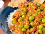 Keema – Indian Spiced Ground Meat with Peas