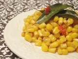 Sweet Corn with Cumin, Curry Leaves, and Chilis