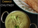 Mango - Cabbage Chutney / 3 Ingredients Chutney / Chutney Recipe - 22 / #100chutneys