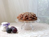 Almond Lavender Plum Bundt #BundtBakers