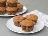 Apple Brown Sugar Muffins #MuffinMonday