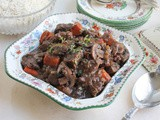 Beef and Mushroom Bourguignon (Instant Pot)