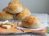Cheddar Herb Scones #BreadBakers