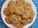 Chocolate Chip Orange Oatmeal Cookies #CreativeCookieExchange