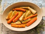 Duck-fat Roasted Carrots and Parsnips