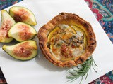 Fresh Fig Blue Cheese Tarts #FoodieExtravaganza