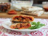 Grilled Pepperoni and Sausage Pizza Wraps #SundaySupper