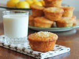 Lemon Cream Cheese Muffins #MuffinMonday
