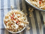Pepperoni Pizza Popcorn #FoodieExtravaganza