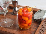 Spicy Pickled Grape Tomatoes #FoodieExtravaganza