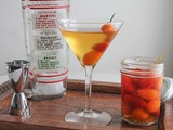 Spicy Pickled Tomato Dirty Martini